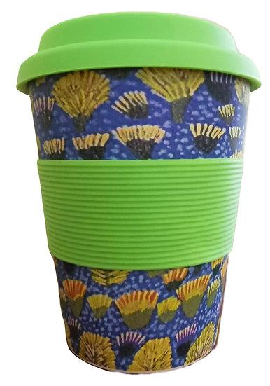"""Bamboo Eco Mug - """"Sugar-bag Dreaming"""""""