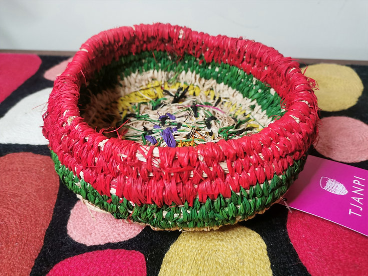 Small basket by Margaret Dodd Ngilan
