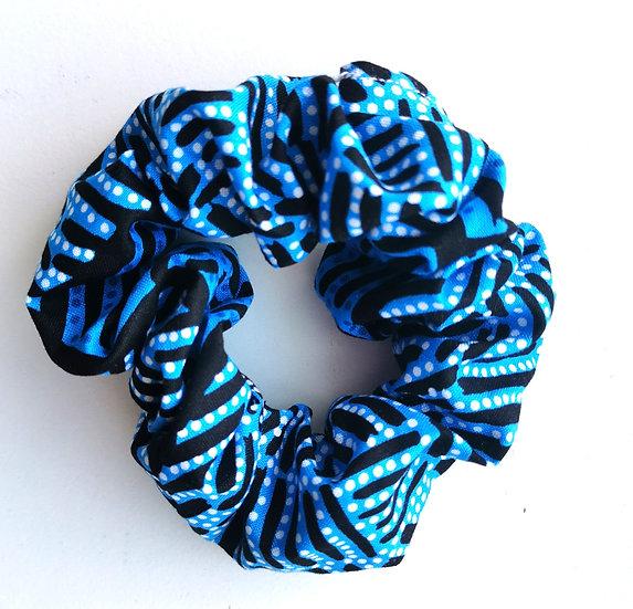 "Blue Scrunchie - ""Body Painting"" by June Bird"