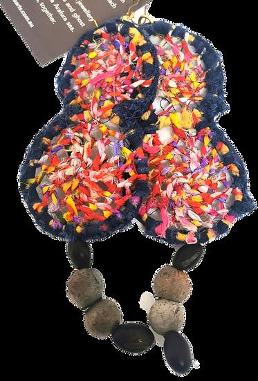 Silk Earrings by Annabell Amagula