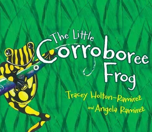 The Little Corroboree Frog by Tracey Holton-Ramirez