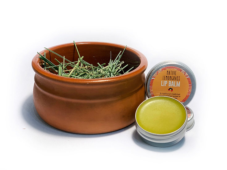 Native Lemongrass Lip Balm