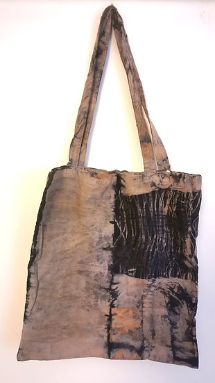 Bush Dyed Calico Bag by Joanne Mamarika