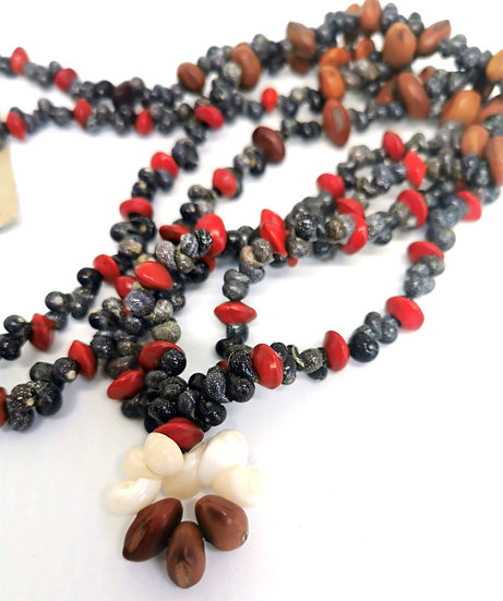 Shell and Seed Necklace by Joanne Mamarika