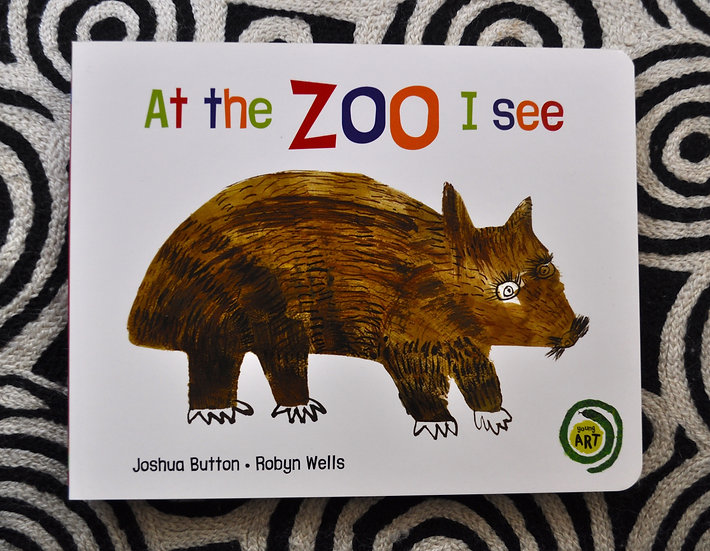 At the Zoo I See (Young Art series) by Magabala Books