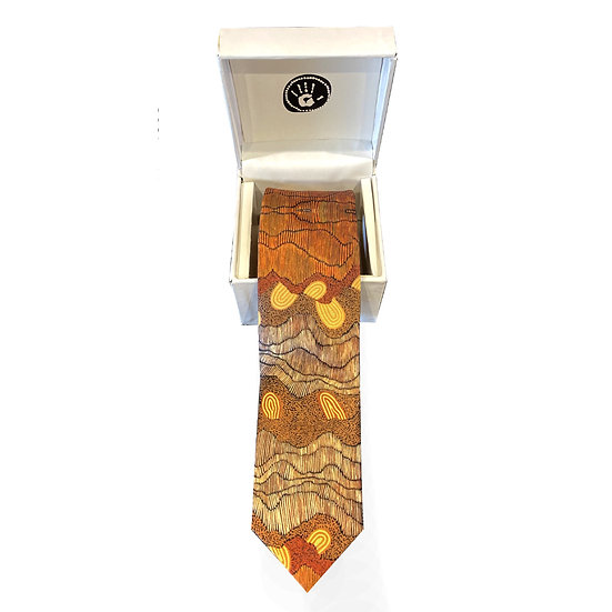 Boxed Tie by Damien and Yilpi Marks