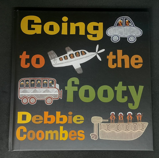 """""""Going to the Footy"""" by Debbie Coombes"""