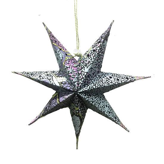 Paper Star (25cm) by Pauline Nampijinpa Singleton