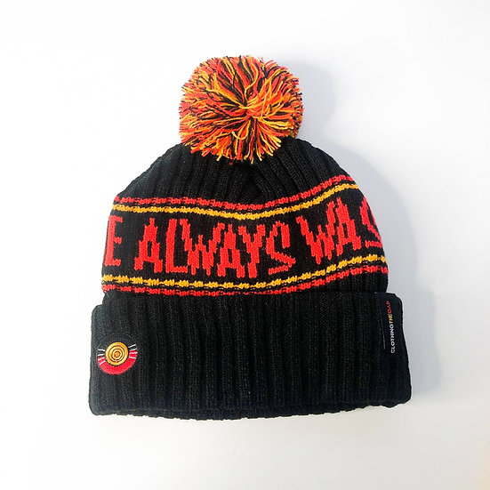 """LOUD """"Always Was Always Will Be"""" Beanie by Clothing the Gap"""