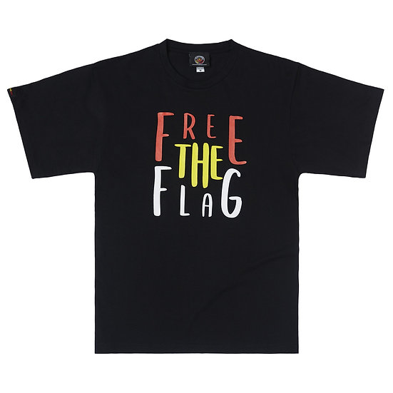 """""""Free The Aboriginal Flag Tee"""" by Clothing the Gap"""