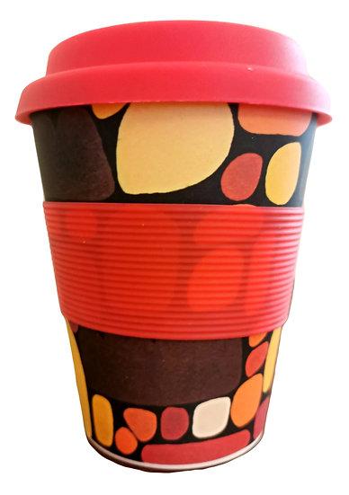 "Bamboo Eco Mug - ""Puli Puli"" (Stones)"