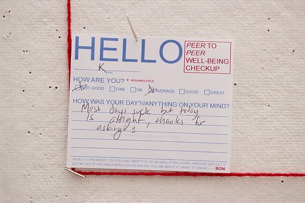 Hello Response 1