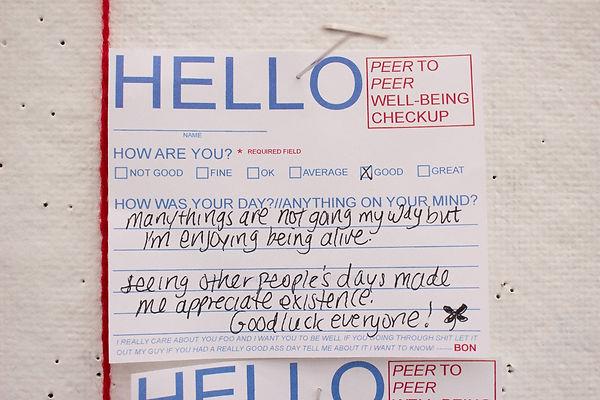 Hello Response 2