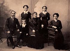 Family Portrait Seppia