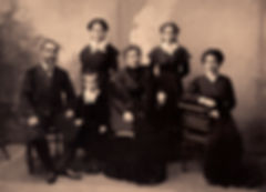 Portrait de famille Sépia