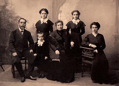 Family Portrait Sepia