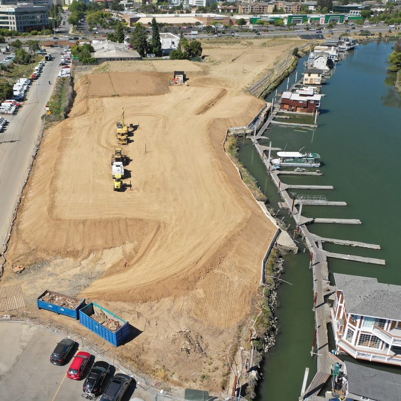 Remediation, Grading, Surcharge Project - Redwood City
