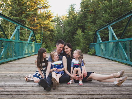 The B Family | Family Photographer Edmonton