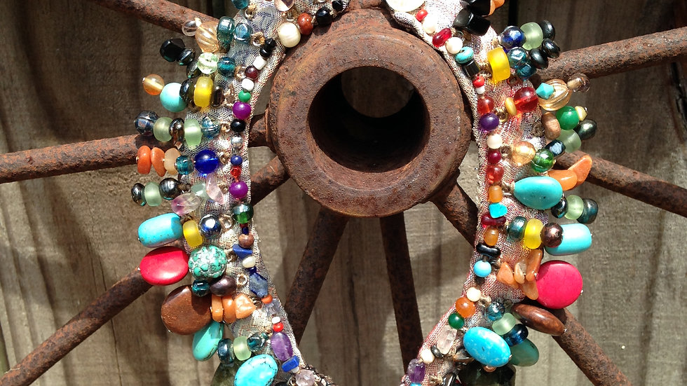 Stone Goddess Necklace