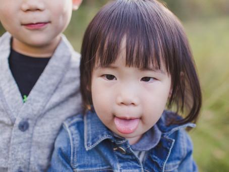 Dominic & Lyla | Edmonton Photographer | Fall family photos