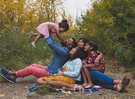 The S - Family   Edmonton lifestyle fall photographer