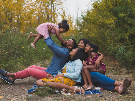 The S - Family | Edmonton lifestyle fall photographer