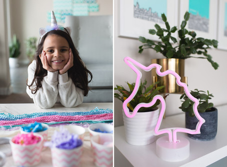 Lynnea's 7th Birthday Party: Unicorn Magic
