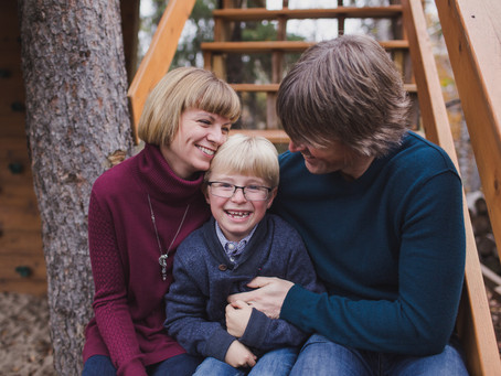 Jake | Edmonton family treehouse photos