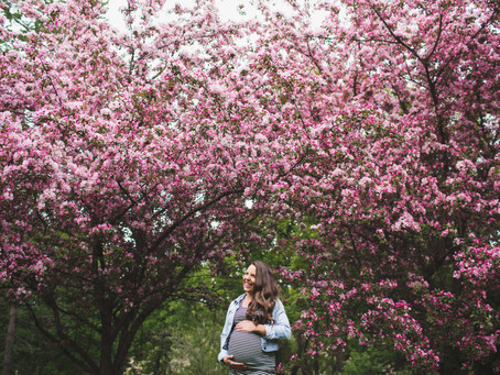 Tess & Cam | Edmonton Blossom Maternity Photographer | Reasons to have maternity photos