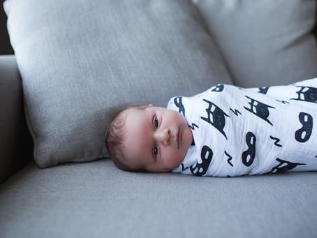 Kace | Lifestyle newborn photos in Edmonton