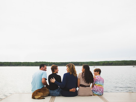 The story of the H family | Wabamun Lake Photographer