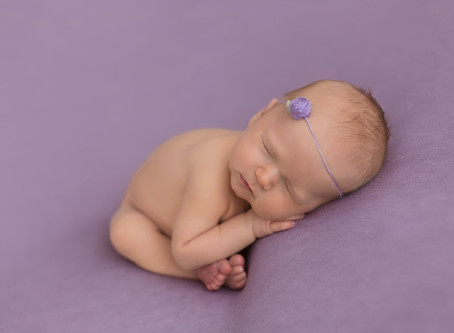 Teagan | Newborn photos in Edmonton