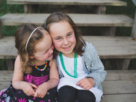 Kaylin & Brea | Edmonton lifestyle family photographer