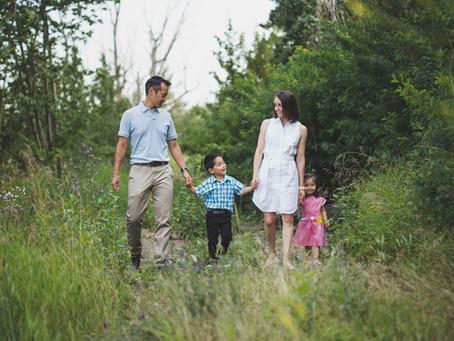 Adam & Siena | Edmonton Photographer Family