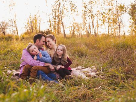 Jack & Elizabeth   Edmonton Fall Family Photographer