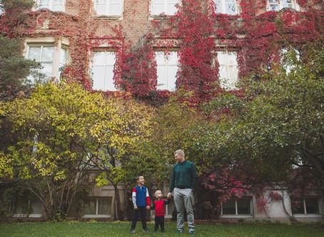 Loki & Niko   Fall family photographer Edmonton