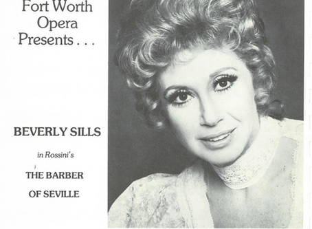 FWO Archives (1963-1979): Soprano Beverly Sills - 'La Traviata' to 'The Barber of Seville.'