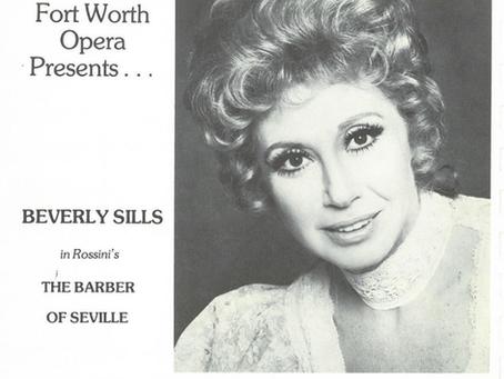 FWO Archives (1963-1979): Soprano Beverly Sills - 'La Traviata' to 'The Barber of Seville.'
