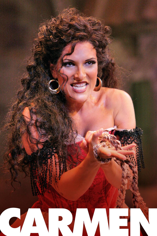 Audrey Babcock as Carmen, Utah Opera Festival. Photo by Cory Weaver.