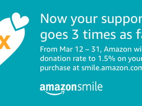 Shop on Amazon This Month and Support Us 3x as Much!
