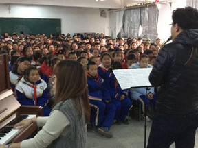 Artists Educate Beijing Schoolchildren in Pair of Outreach Events