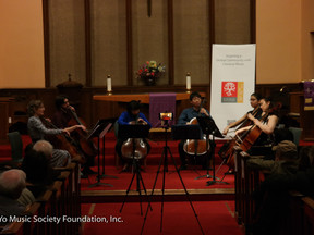 Ensemble Brings Rare Cello-Focused Evening to Leonia Audience