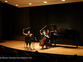 Trio Debuts Work from Upcoming Album at Lincoln Center