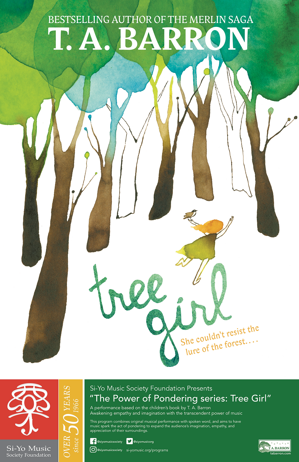 PoP Tree Girl Poster