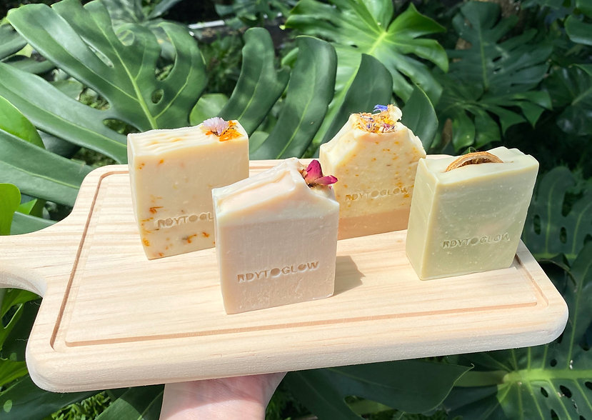 Handmade vegan soap, natural and good for the Earth