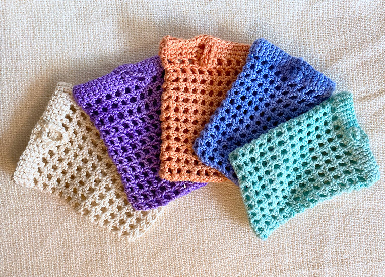 Hand-knitted Soap Saver