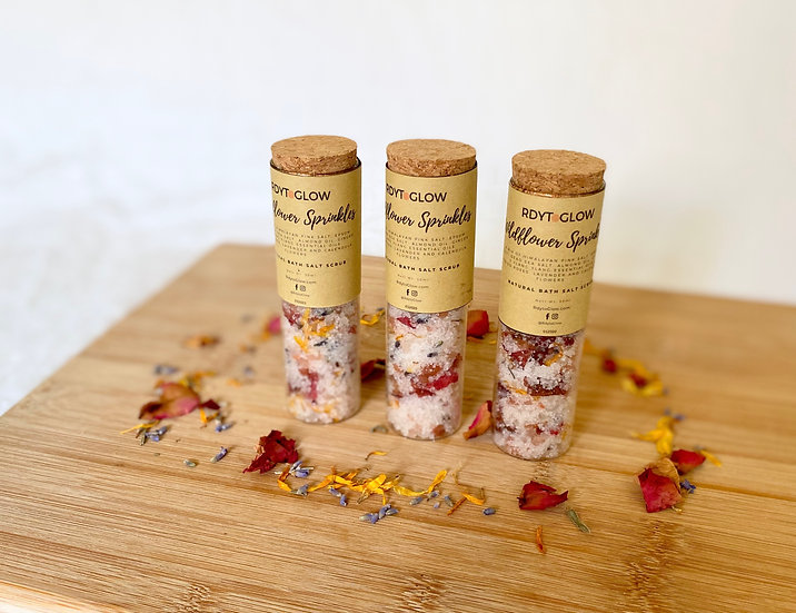 Wildflower Sprinkles Bath Salt Scrub