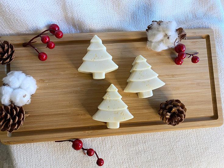 White Christmas Vegan Soap