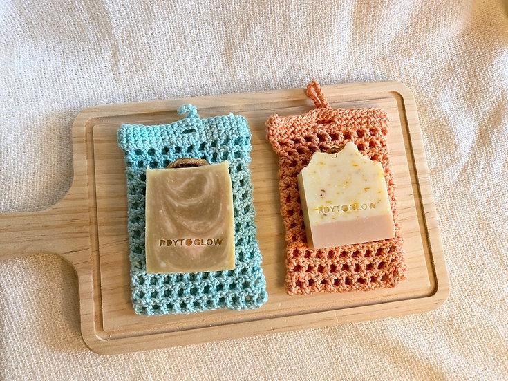 Soap + Soap Saver Bundle
