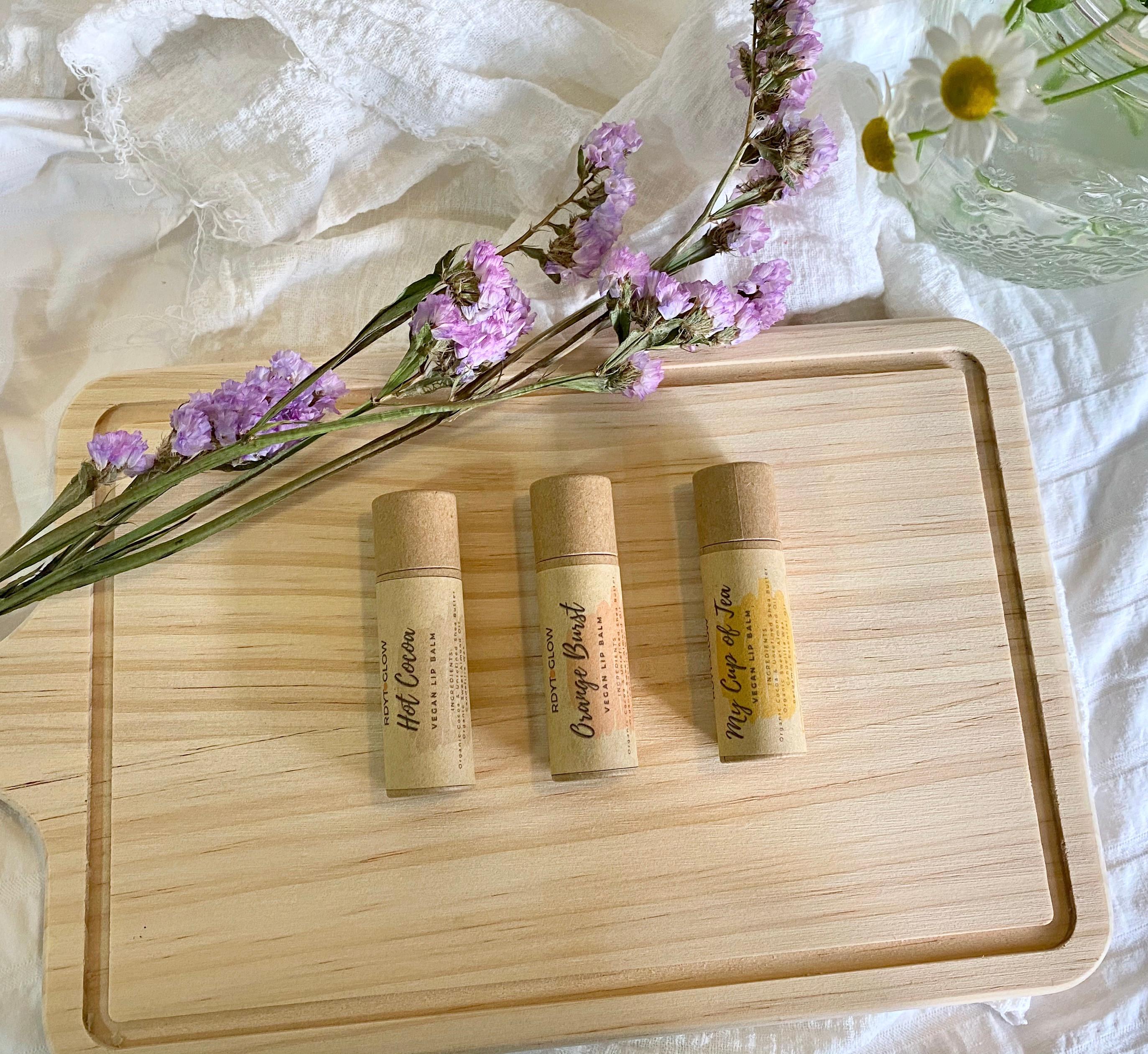 Natural Lip Balm & Body Lotion workshop